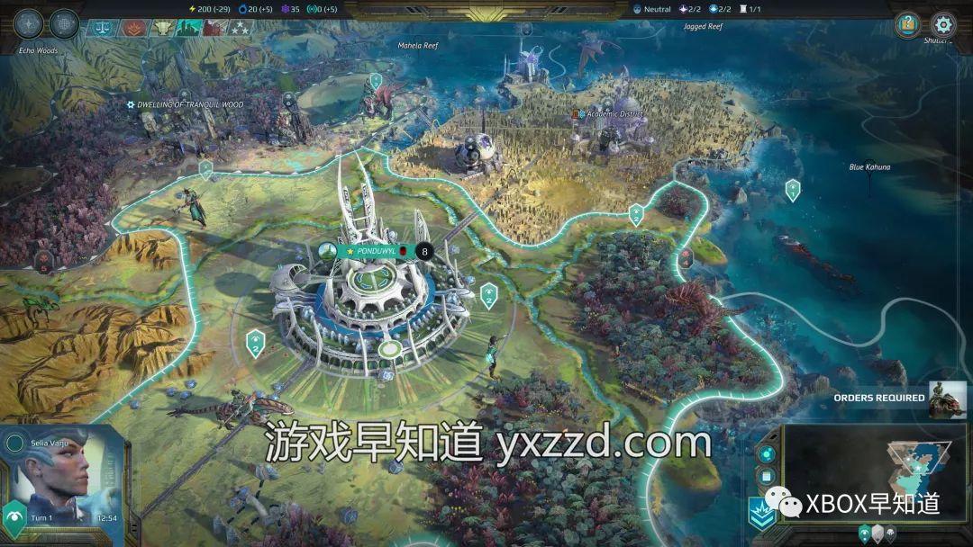 Xbox One策略新作《奇迹时代:行星陨落》正式发售 支持官方中文
