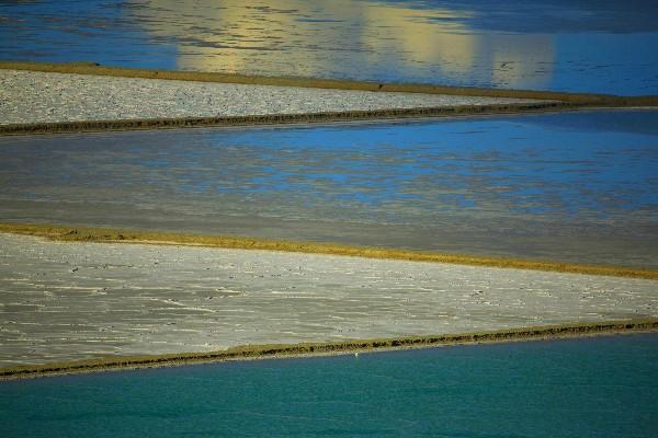 <b>西藏有一个盐湖虽没有茶卡盐湖的名气,但却拥有着强大价值</b>