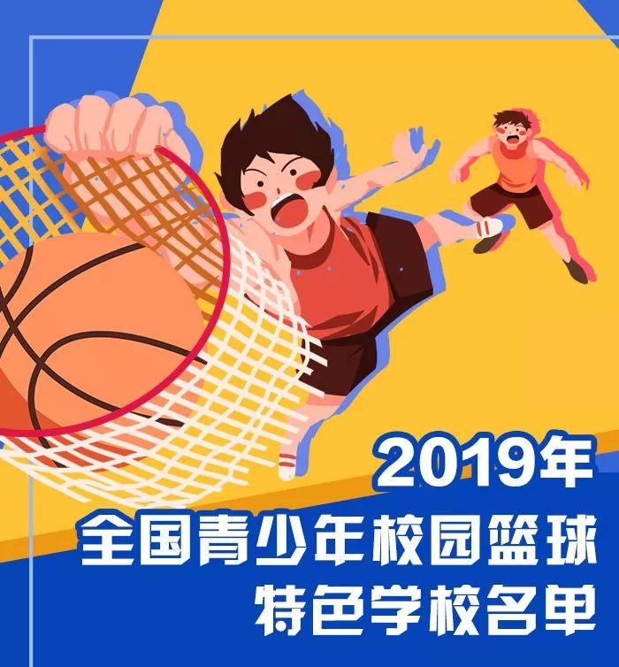 祝贺!沙县这5所学校入选2019全国青少年校园篮球特色学校!