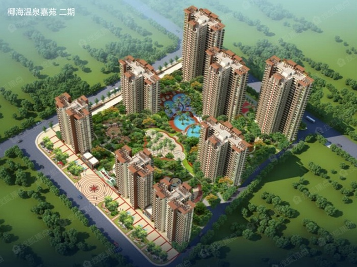 椰海温泉嘉苑项目加推:亲海美宅带装修 总价106万/套起