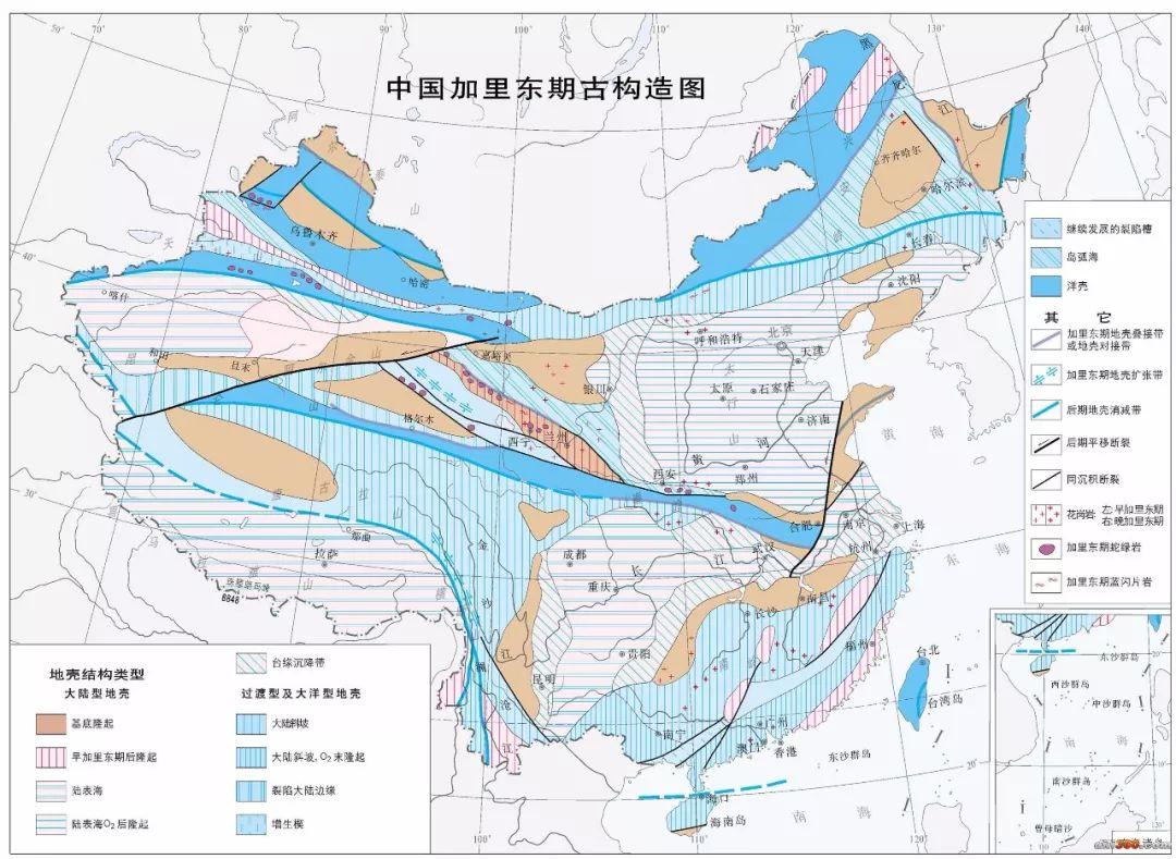 地质人的46张地图全方位展示什么是中国!图片