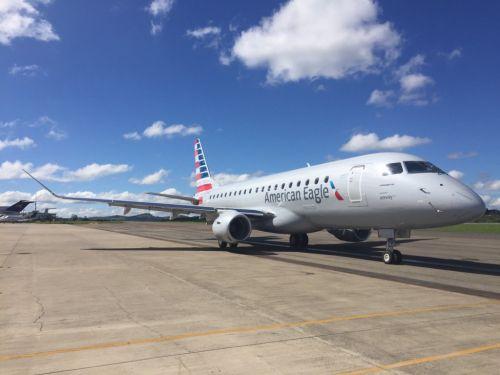 【图】                     巴航工业与美天西航空签署7架E175飞机订单