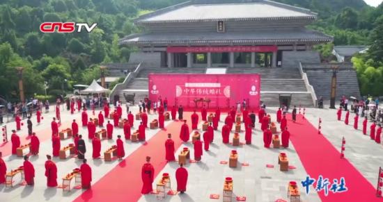 贵阳孔学堂举行中华传统婚礼30对新人跨越千年喜结良缘