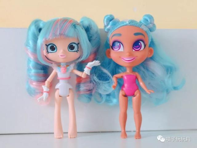美发娃娃pk购物精灵,两大美系娃娃哪家强?图片