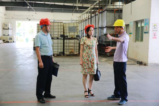 省人社厅到武平县开展劳动关系业务调研