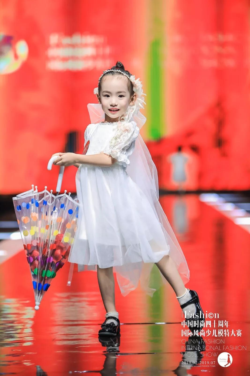 国际风尚   2019国际风尚少儿模特大赛opal组冠军——