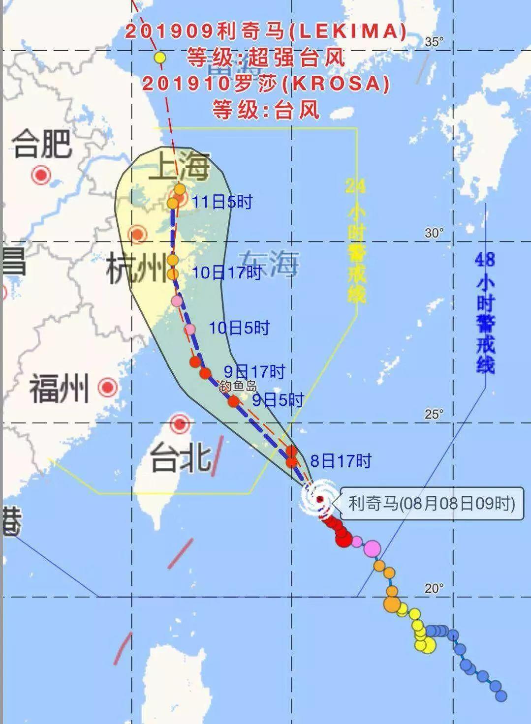 受第9号台风 利奇马 影响,象山影视城明日起 2019年8月9日 闭园