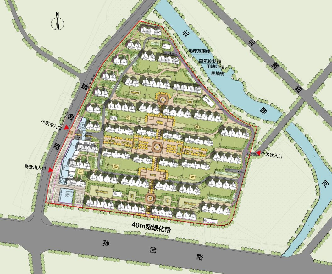 碧桂园房屋建筑平面图