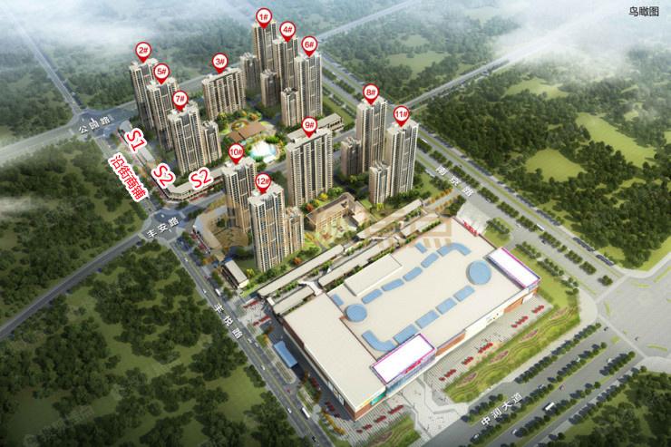 淄博富力城一期沿街商铺开启验资 116-144㎡精装房源在售