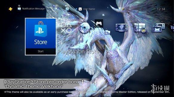 """《怪物猎人世界》""""冰原""""冰咒龙PS4动态主题公开"""
