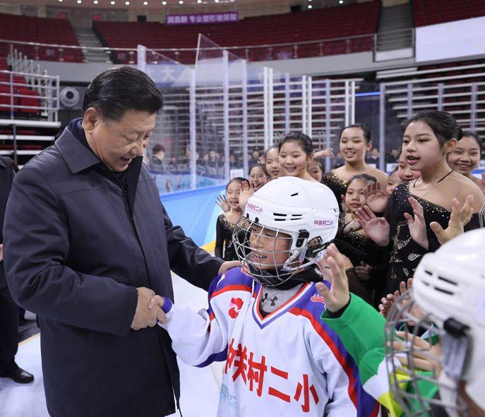 """习近平:我是""""体育爱好者"""",""""我爱运动"""""""