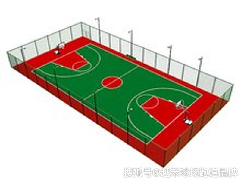 塑胶篮球场网足球场地_标准篮球场建设尺寸