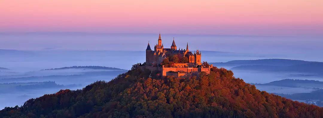 霍亨索伦城堡(burg hohenzollern)——阳刚的英雄主义城堡