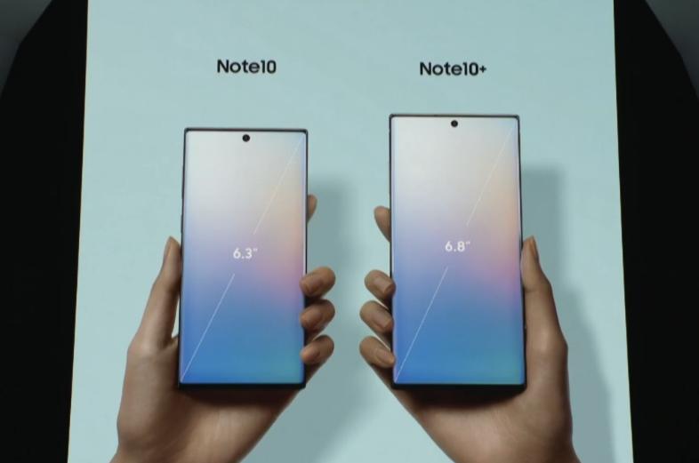 三星Note10来了!有5G颜值高,还买什么iPhone?