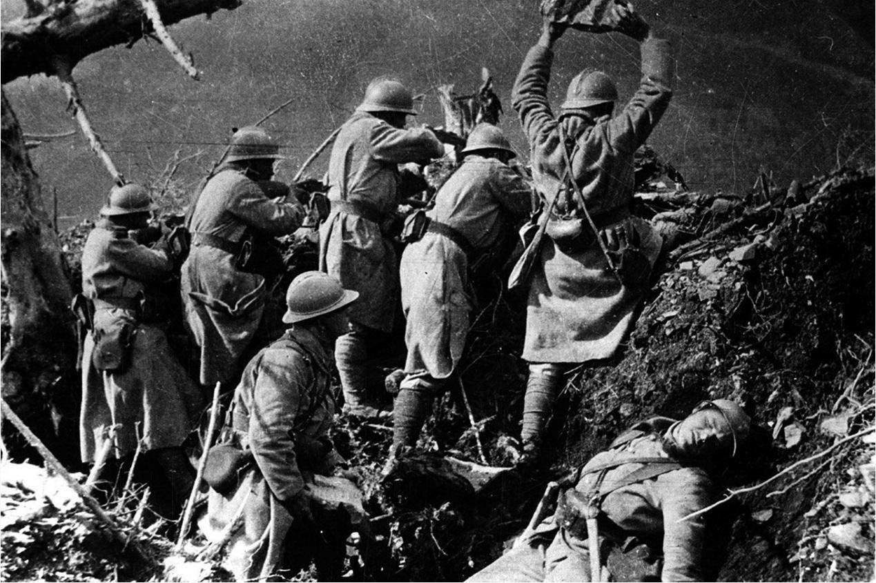 重机枪让战场变成地狱,而德军战术的创新,让200万姑娘嫁不出去