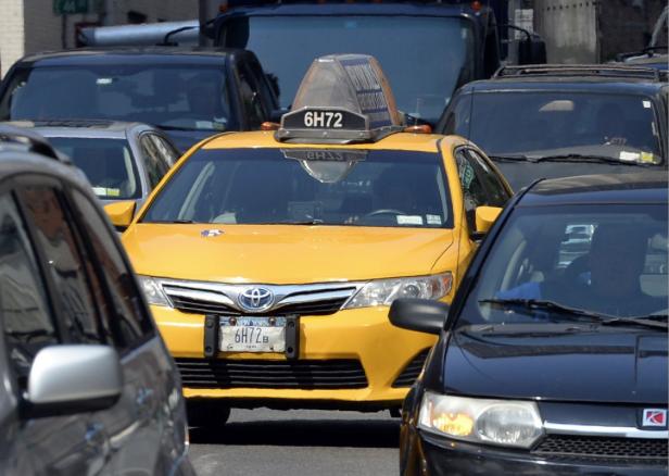 Uber和Lyft终于发现,他们是交通拥堵恶化的推手