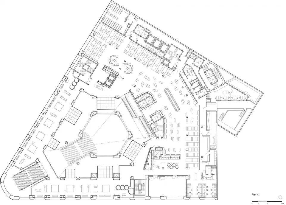 广场小吃区平面图