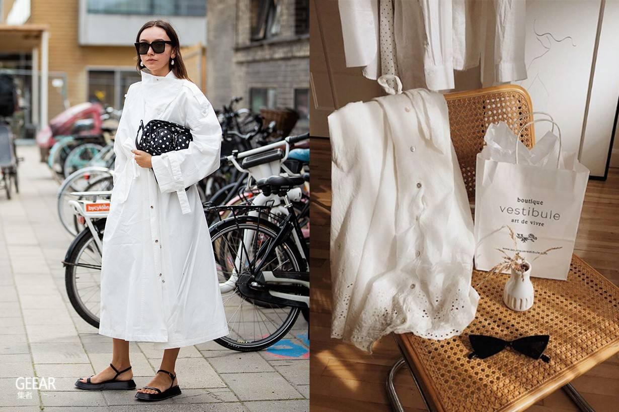从T台到街头:哥本哈根的女生,都不约而同穿上这款裙子!