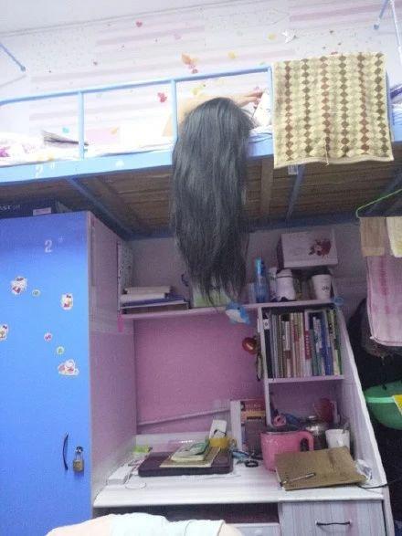 你们知道女生洗完长发后,晾头发的样子有多看恐怖吗?_才能