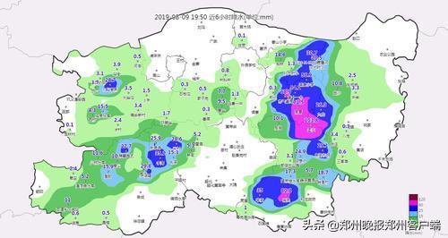 释疑:市区东部南部大雨倾盆,为何西部一滴未下?
