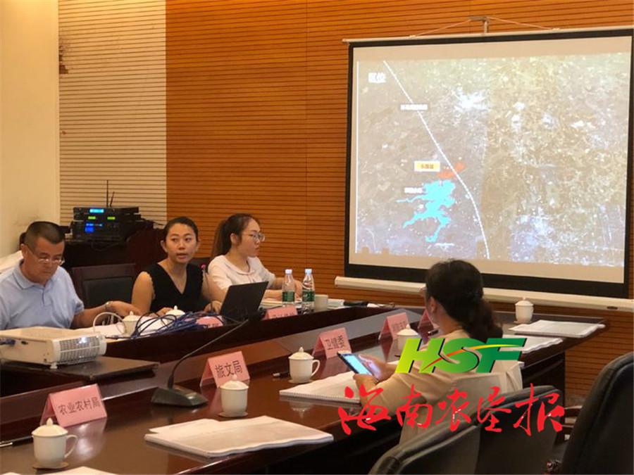 文昌市自规局组织召开东路小城镇建设规划专家评审会