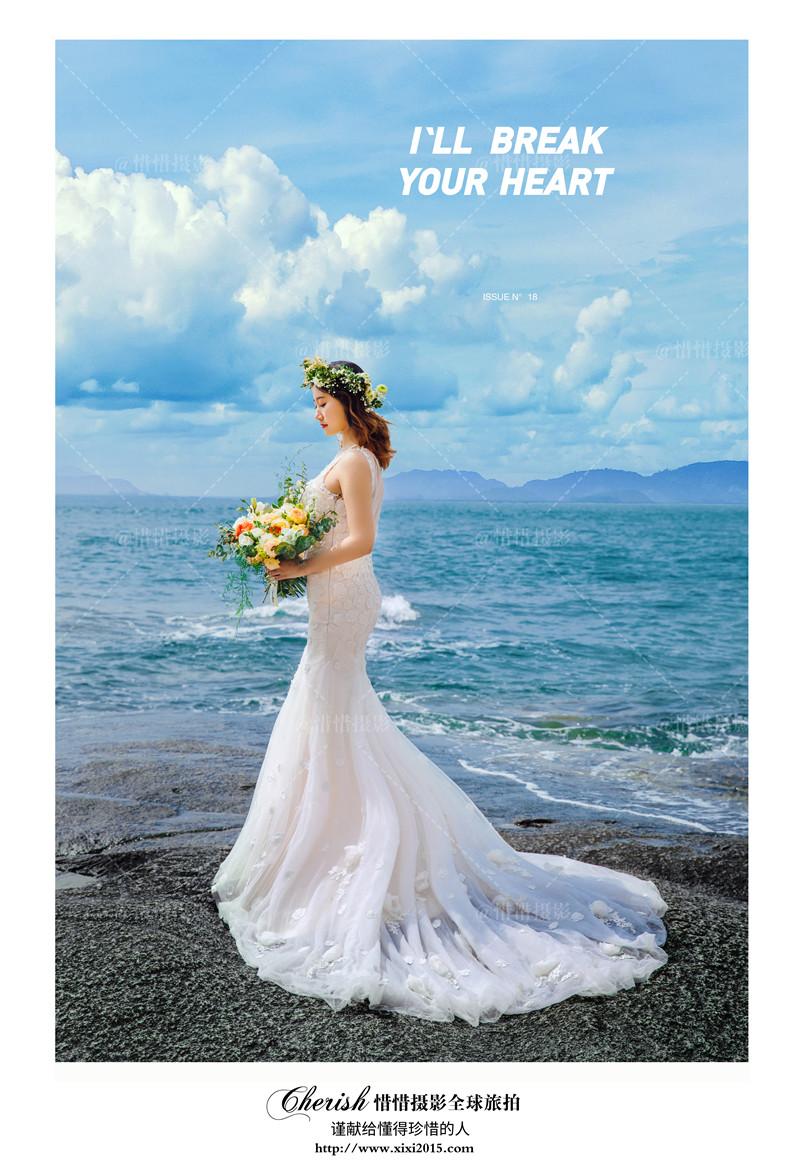 婚纱摄影大揭秘:新娘拍单人婚纱照能用到哪些姿势?