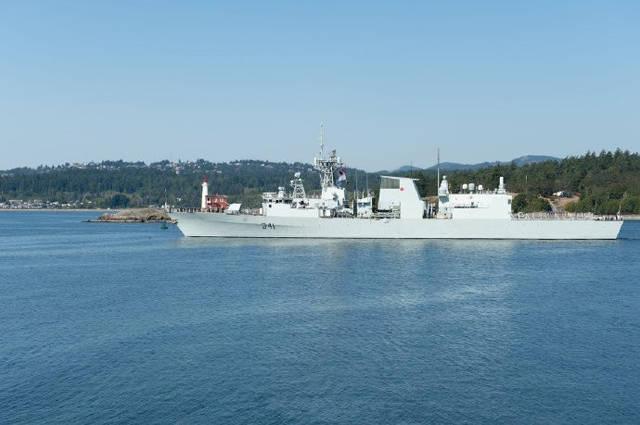 再次挑衅!加拿大又派军舰赴黄海巡航,052D舰在家门口直接出手