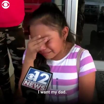 """特朗普一声令下,美国有人孩子哭喊""""我要爸爸"""""""