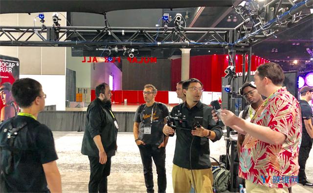 诺亦腾推出VR大空间多人交互解决方案Sparse IK