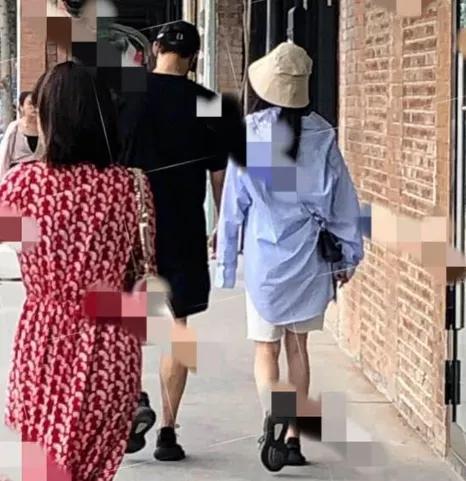 杨幂魏大勋疑似恋情曝光,穿情侣鞋逛街,两人相差2岁曾多次合作