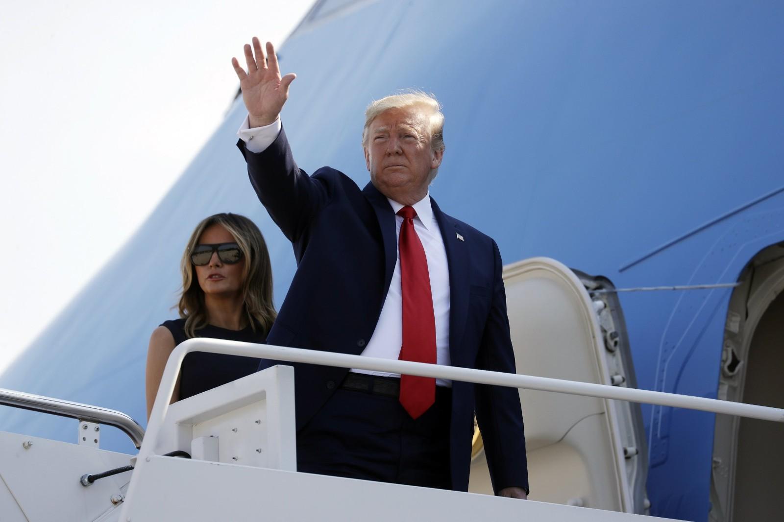 特朗普即将前往新泽西州度假,但其面临的危机可能影响连任预期