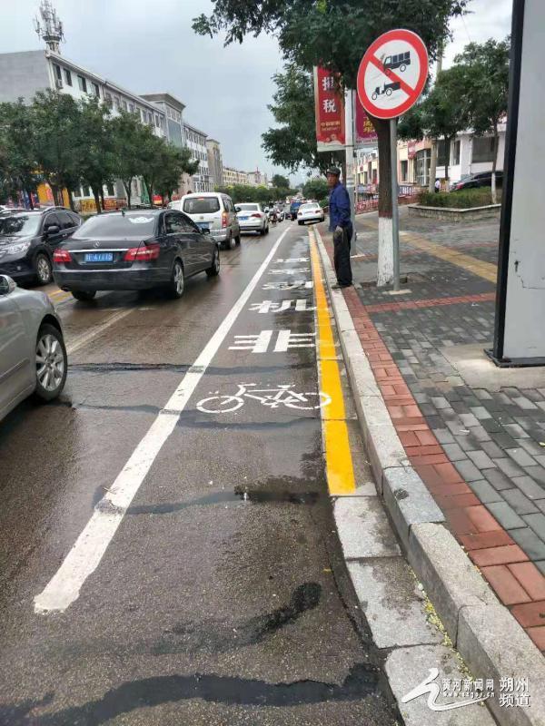 朔州交警二大队北新街交通标志标线重新规划通知