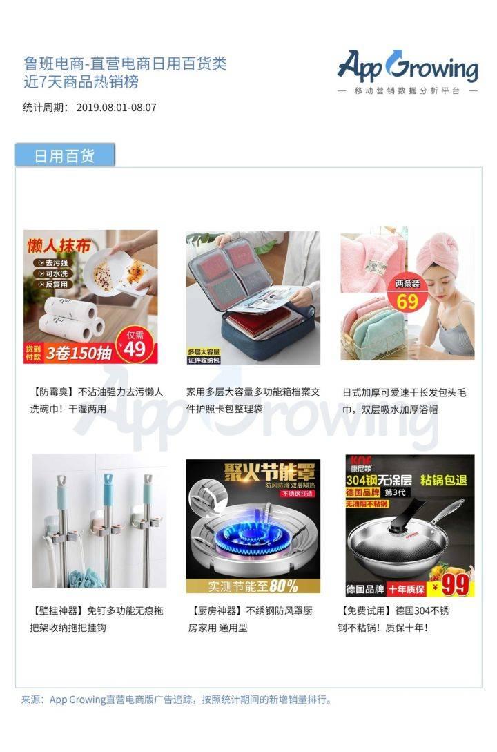 直营电商 8月第二期热销商品榜  商家实行排行成效上线广东复工肺炎