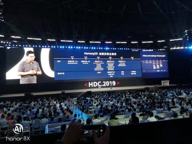 华为发布鸿蒙OS系统 采用微内核架构