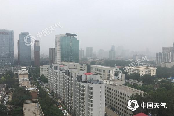 """台风""""利奇马""""影响!河北周末强降雨不断 局地暴雨"""
