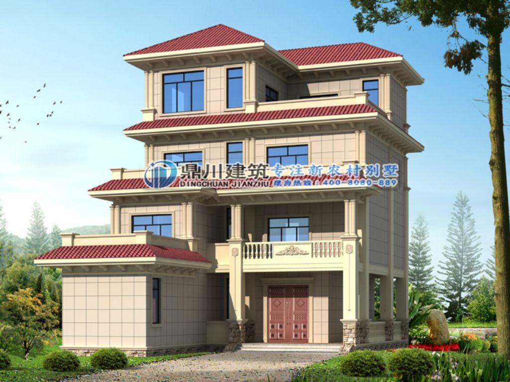 5套农村别墅设计款,外观典雅精致,房子这么建,村长都眼红