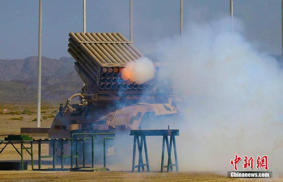 """六国""""军械能手""""比拼火箭炮修理 中国队用时最少"""