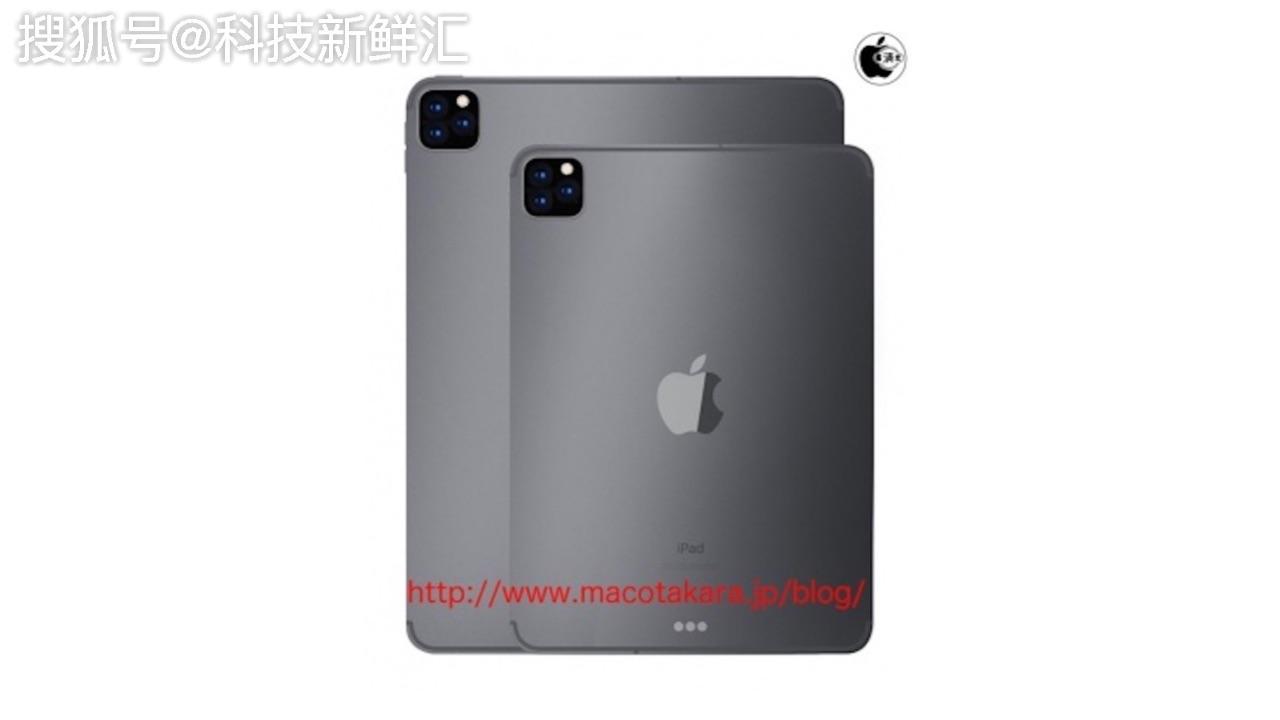 重磅欣喜!传2019 iPad Pro采取类似于iPhone 11的三镜头相机阵列