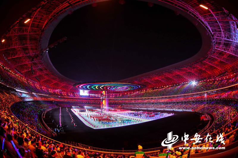 全国二青会在山西太原开幕 安徽代表团已获26金