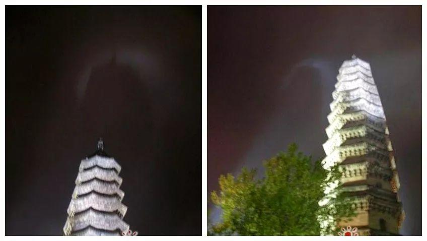 杭州昨日惊现 七彩祥云 见者得福 佛门祥瑞更神奇,竟拍到 观音菩萨 凤凰祥云