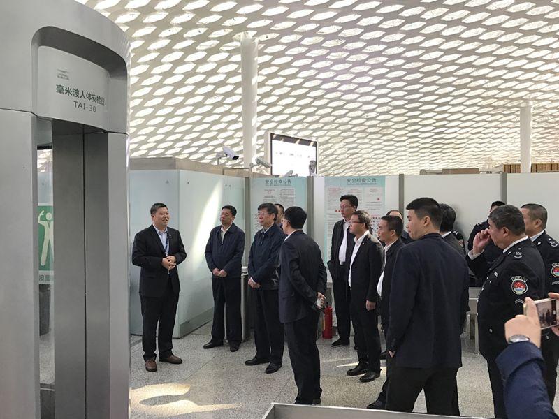 会员风采 华讯方舟毫米波人体安检仪获得中国民用航空局A级认证 有望开启千亿市场