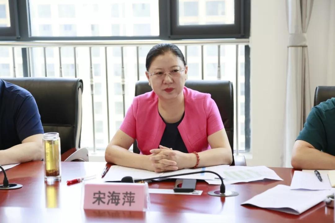河南省高院党组成员、副院长宋海萍一行赴信阳中院督导执行工作