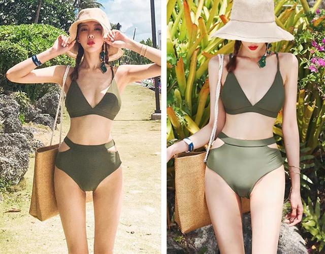 Army Green Hipster Bikini