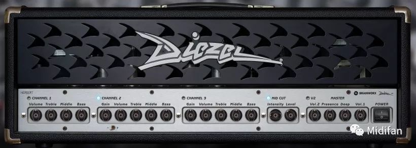 Plugin Alliance 推出 Diesel Herbert 电子管吉他放大器插件
