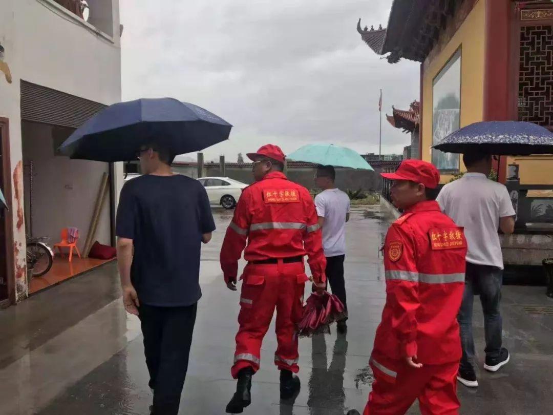 抗击超强台风 利奇马 进行时 苍南各应急救援社会组织冲锋在前风雨无阻