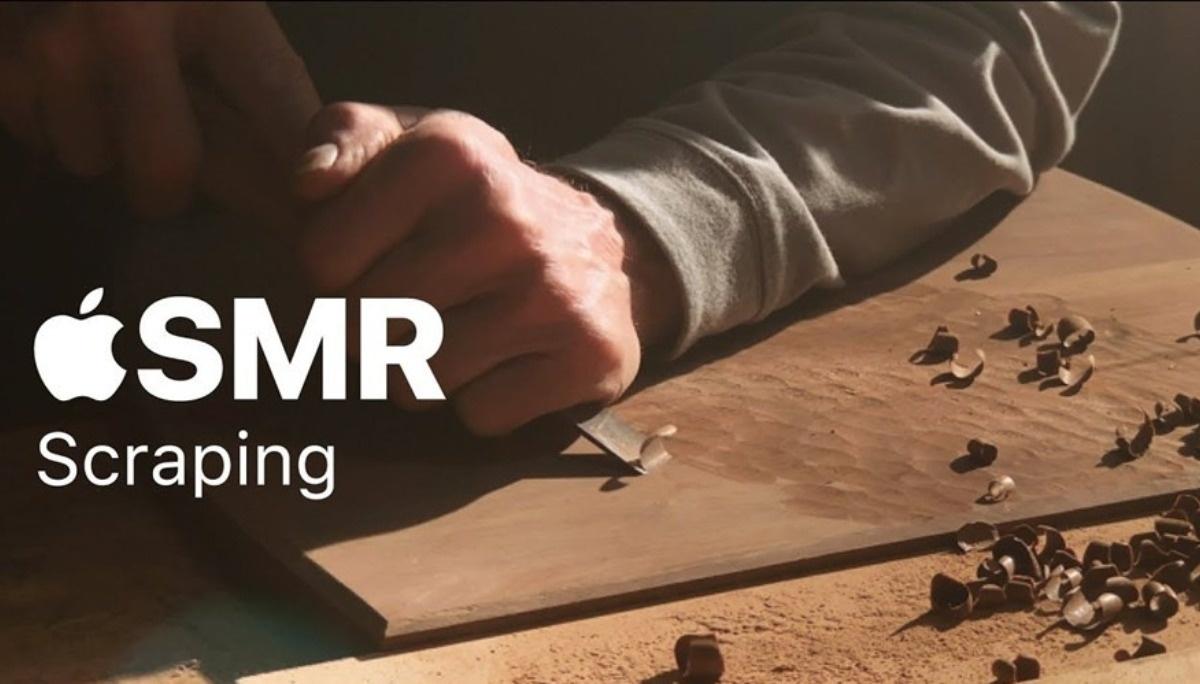 苹果发布了四个 ASMR 视频,看完觉得…好困