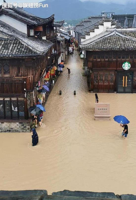 临海或发生历史性大洪水,黄晓明杨幂杨颖上百名明星祈福祝平安