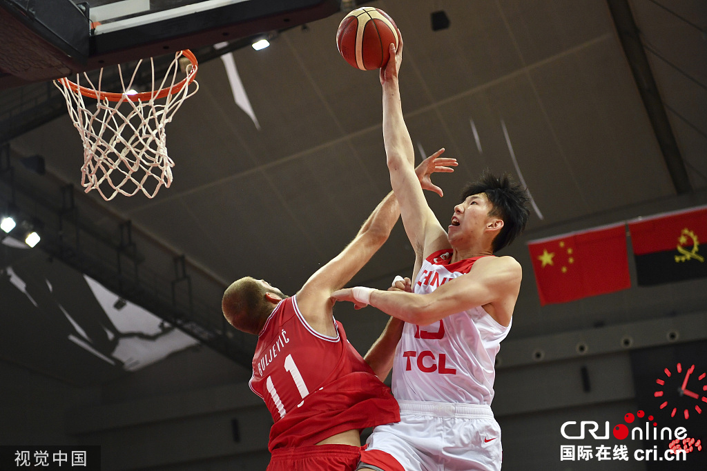 中国男篮昆山四国赛取两连胜