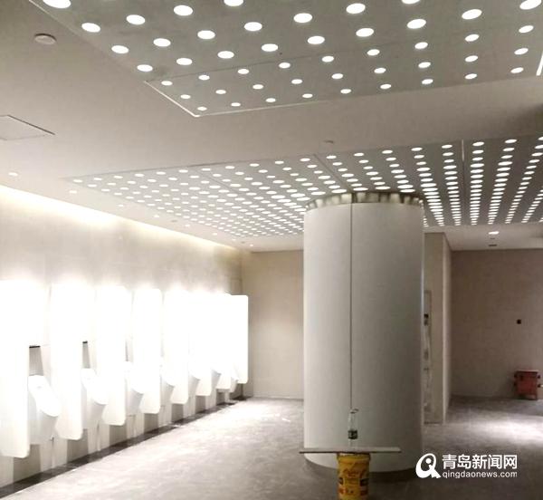 青岛新机场航站楼揭面纱 全面进入精装修收尾阶段