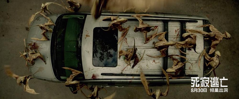 """《死寂逃亡》发""""异兽蝠蜂""""制作特辑 揭秘可怕灭世怪物"""
